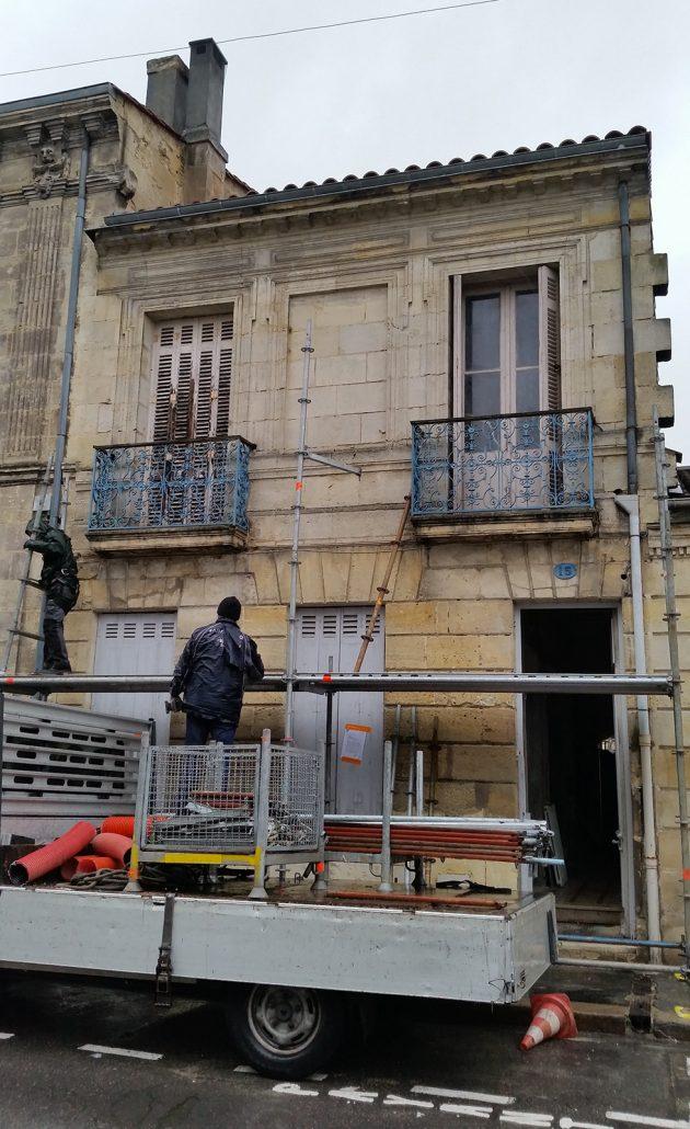 Ravalement-de-facade-Hydrogommage-Bordeaux