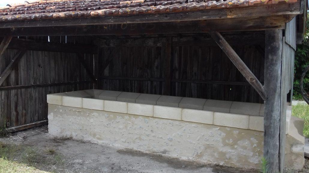Renovation-d'un-lavoir-en-pierre,-patrimoine-Jau-Dignac-Loirac