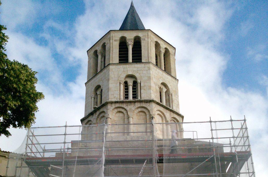 Restauration-de-clocher-patrimoine-Gaillan-Medoc