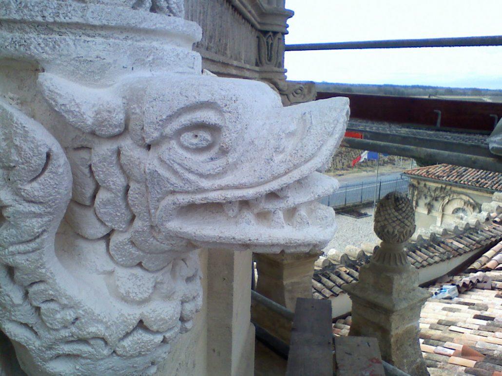 Sculpture-Chateaux-Cos-d'Estournel-Pauillac-Medoc