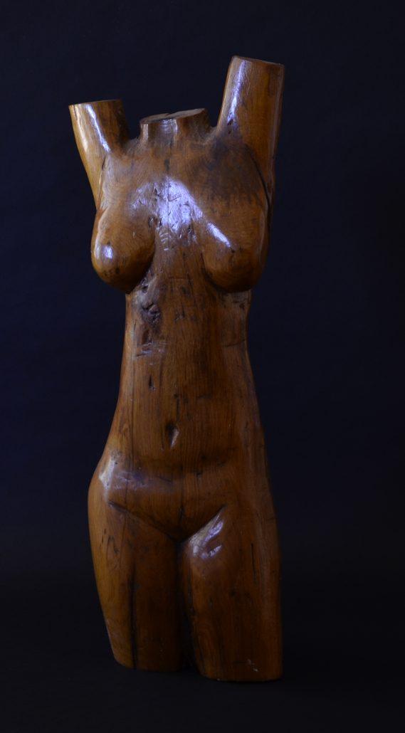 Sculpture-en-Bois-Buste-33
