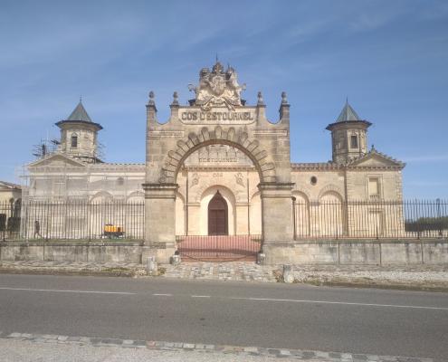 Rénovation du châteaux Cos d'Estounel Avant