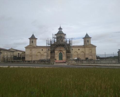 RRénovation du Château Cos d'EStounel Pendant